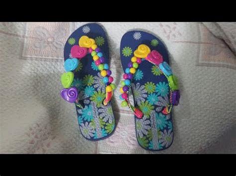 como decorar unas sandalias con liston decoracion sandalias para ni 209 as youtube