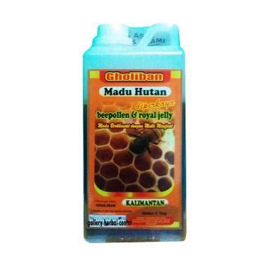 Madu Hutan Riau Gholiban Plus Bee Pollen Dan Royal Jelly 1 Kg jual madu gholiban hutan kalimantan plus bee pollen royal jelly madu murni 1 kg harga