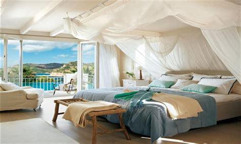 Dream bedroom ideas, seaside master bedroom decorating