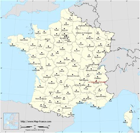 ROAD MAP LE SAPPEY EN CHARTREUSE : maps of Le Sappey en Chartreuse 38700
