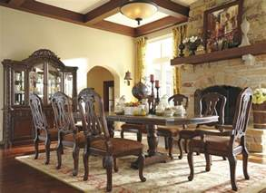 shore dining room set north shore double pedestal extendable dining room set from ashley coleman furniture