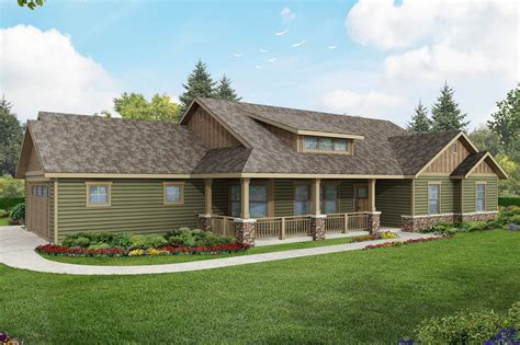 What Is A Ranch House by Ranch House Plans Brightheart 10 610 Associated Designs