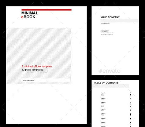 27 ebook templates psd ai eps indd vector format