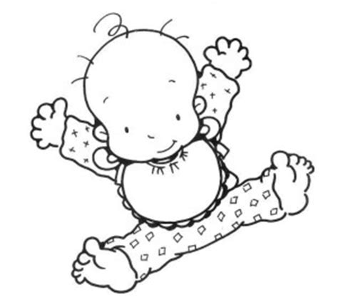 imagenes infantiles bebes para imprimir bebes para colorear pintar e imprimir