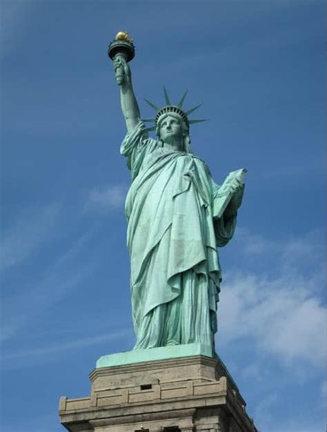 Amerika Newyork Times Liberty Patung Liberty United State top 6 historical monuments of united states the