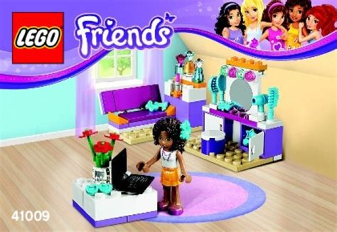 lego friends andrea s bedroom building instructions lego friends 41009 andrea s