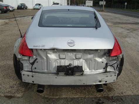 2006 nissan 350z 6 speed manual salvage rebuildable for sale 2006 nissan 350z 6 speed manual salvage rebuildable for sale