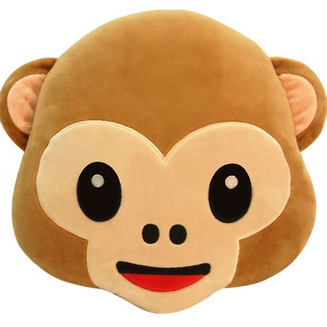 Decorative Pillows Cheap Prices by Lowest Price 2016 Selling Emoji Pillow Monkey Throw