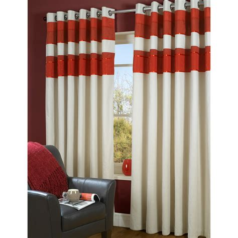 the range curtains uk tonal eyelet curtains red