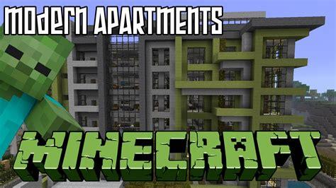 Minecraft Apartment Layout Minecraft Modern Apartments Hd