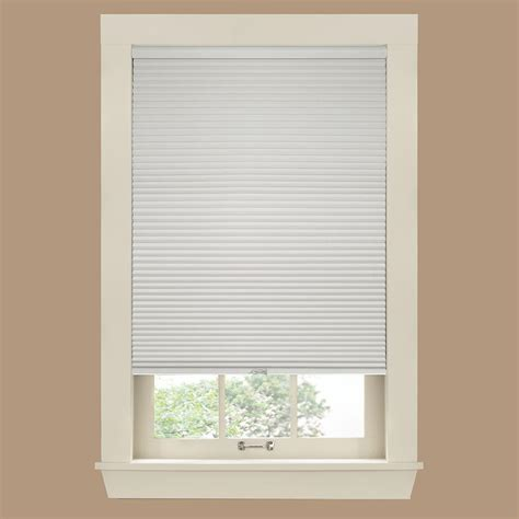 home depot l shades bali cut to size white cordless 12 mm blackout vinyl