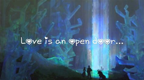 Frozen Is An Open Door Lyrics by Is An Open Door Lyrics Frozen