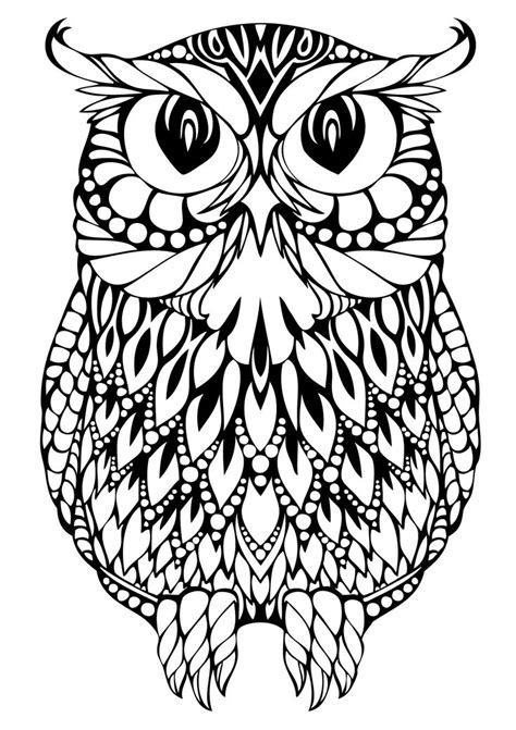 printable owl mandala best 25 adult colouring pages ideas on pinterest free
