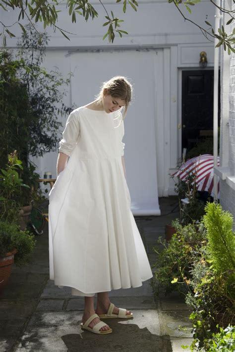26731 White Oversize Dress Dress Putih egg frieda dress lagenlook oversized