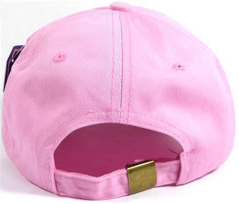 light pink baseball cap washed 100 cotton plain baseball cap gold metal buckle
