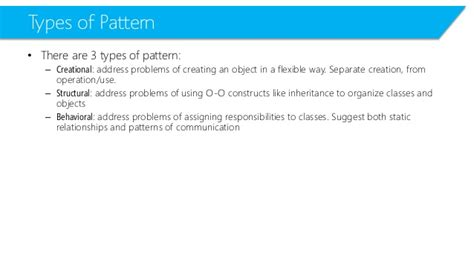 visitor pattern in c sharp c advanced l07 design patterns