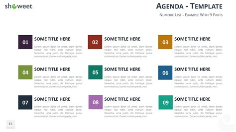 Table Of Content Templates For Powerpoint And Keynote Table Of Contents Powerpoint Template