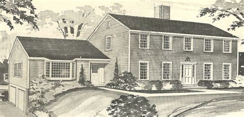 new england house plans vintage house plans 1970s new england salt boxes