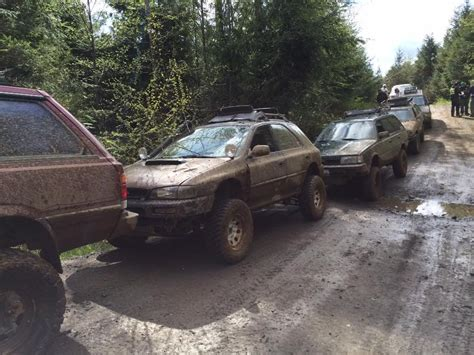 rally subaru lifted lifted rally prepped or just plain dirty subarus mud