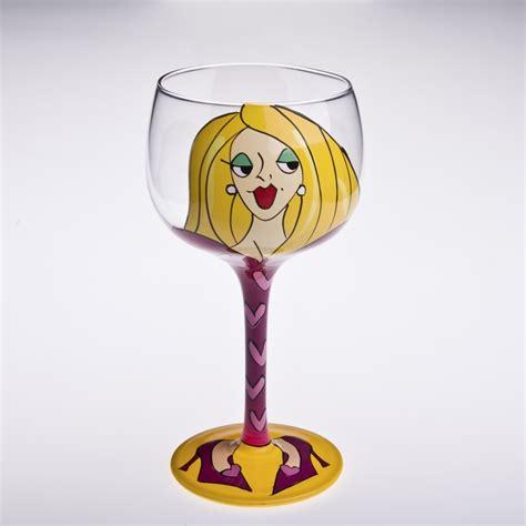 Teh Gelas Botol Per Karton wanita yang dilukis dengan martini gelas pembekal
