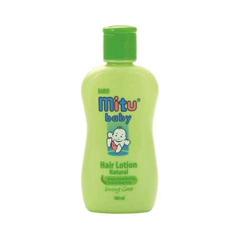Miranda Urang Aring jual mitu bottle baby hair lotion 100 ml harga