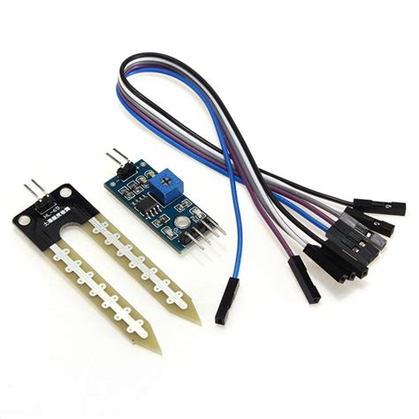 Soil Moisture Sensor Soil Hygrometer Detection Module soil hygrometer humidity detection module moisture sensor for arduino alex nld