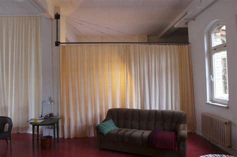 vorhang als raumteiler vorhang als raumteiler k 220 hn design metall