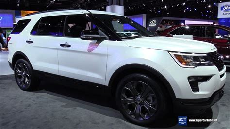 pictures of ford explorer sport 2018 ford explorer sport exterior and interior