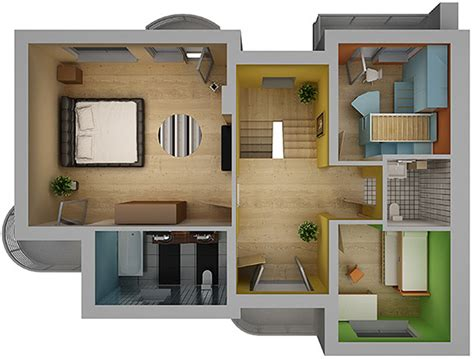 home interior plans home interior floor plan 02 by visualcg 3docean