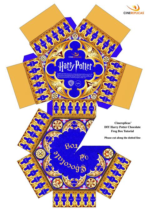 Chocolate Frog Box Template With Cards by Harry Potter Chocolate Frogs Step By Step Recipe
