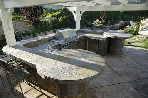 Outdoor Kitchen Tile by Outdoor Slate Tile Designs Home Design Ideas Beautiful