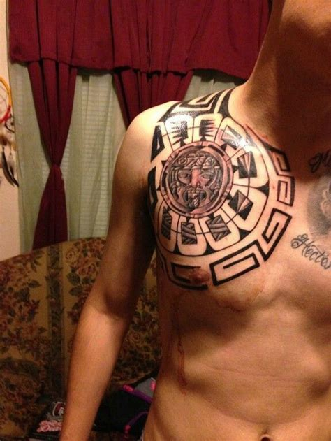 aztec pattern tattoo tumblr aztec tattoo designs