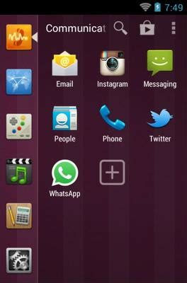 ubuntu android theme for smart launcher 2 | androidlooks.com