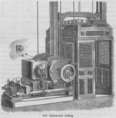 wann wurde die erste orgel gebaut polytechnisches journal otis elektrischer aufzug