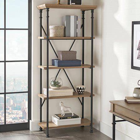 Ark Rak Open Drawers Black better homes and gardens river crest 5 shelf bookcase