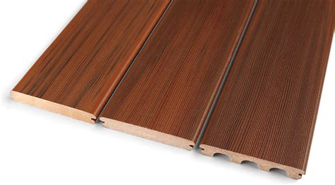 composite wood profiles performance composite decking by duralife