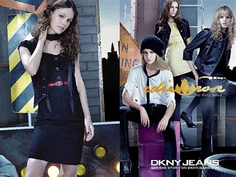 Bilson And Edie Line by Smile Bilson Headlines Edie For Dkny Ad