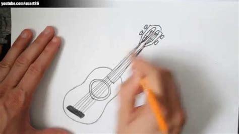 imagenes de guitarras faciles para dibujar como dibujar una guitarra youtube