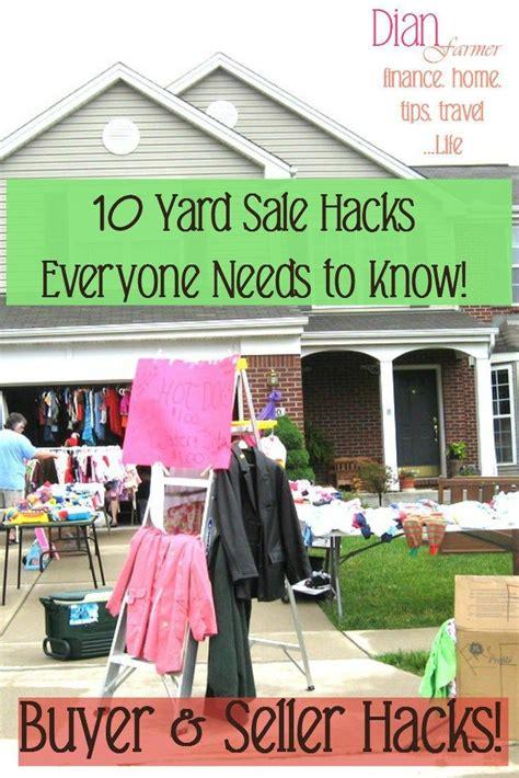 Garage Sale Tips by 25 Best Ideas About Garage Sale Tips On Yard