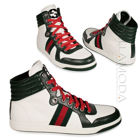sneakers high tops gucci shoes high top lace up white sneakers 21825