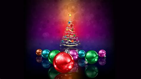 wallpaper xmas tree christmas balls decoration