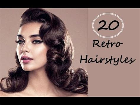 vintage hairstyles for thin hair top 20 beautiful retro hairstyles for women with long