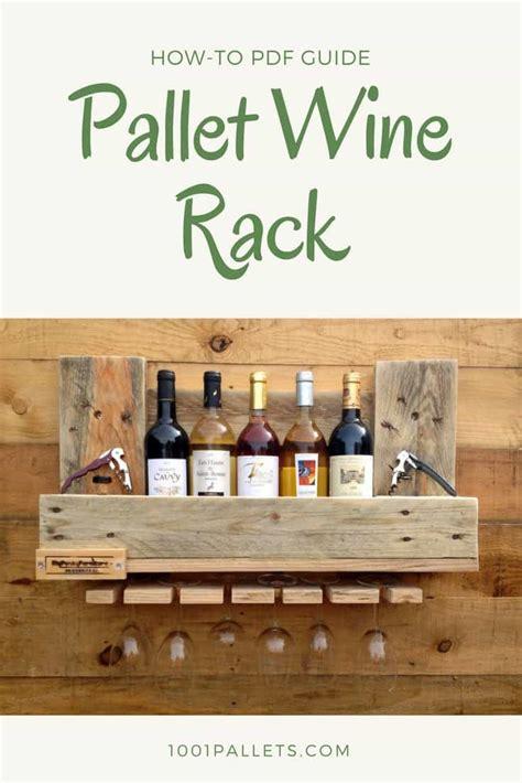 diy  tutorial pallet wine rack  pallets