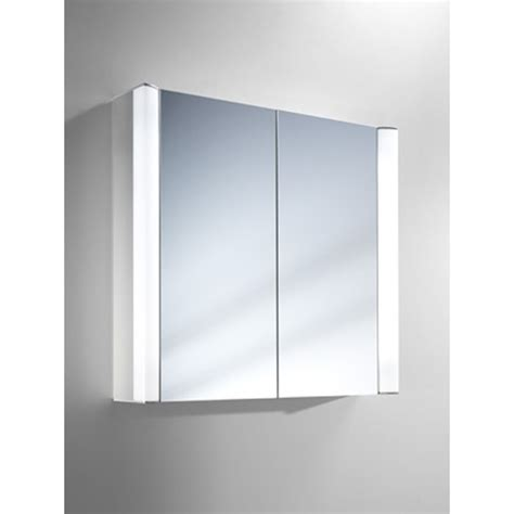 schneider moanaline 700mm illuminated bathroom cabinet