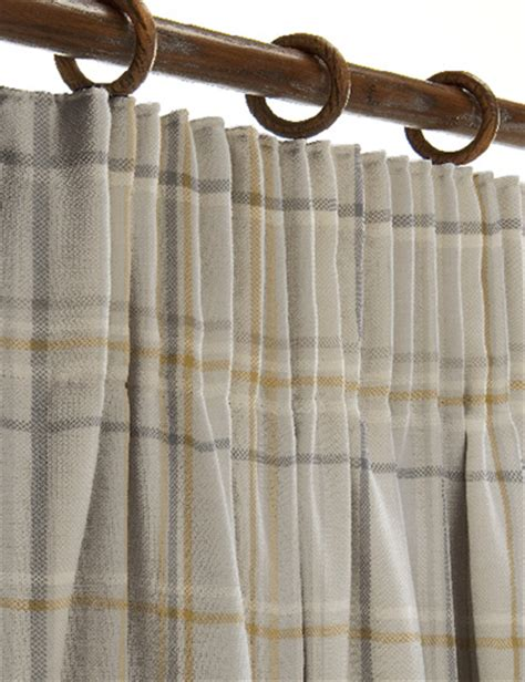 next made to measure curtain fabric curtain details for check ochre next made to measure