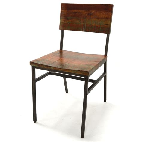 Reclaimed Wood Dining Chair Niles Dining Chair Reclaimed Wood Home Source Furniture