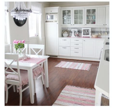 1000 images about pink and white kitchen on pinterest girl things romantic kitchen and its a