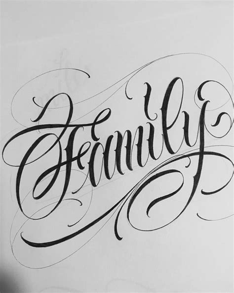 tattoo letras family tattoos thebesttattooartists letra