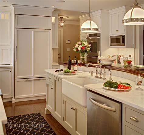 white kitchen cabinetry in chatham nj kountry kraft
