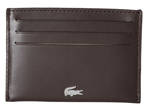 T Shirt Lacoste White 0 1 Buy Side lacoste fg credit card holder in brown for brown